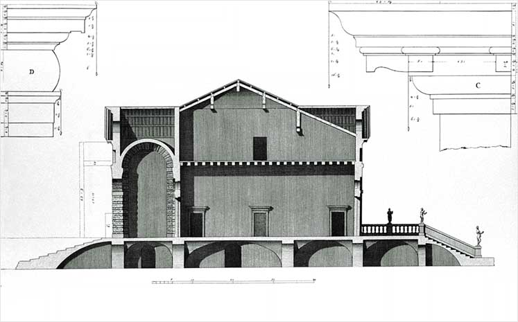 Villa Caldogno section