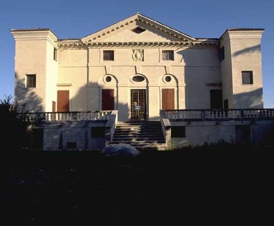 Villa Caldogno Back front
